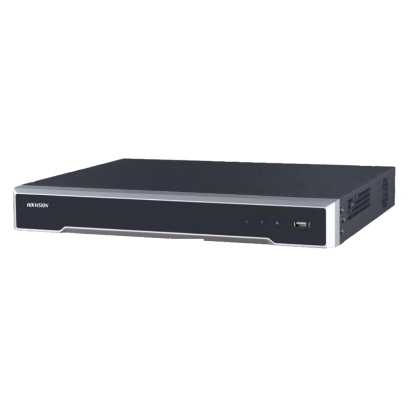 HIKVISION NVR 16CH POE 300M 160MBPS H265+ H265 H264 2HDD (NO INCL HDD)