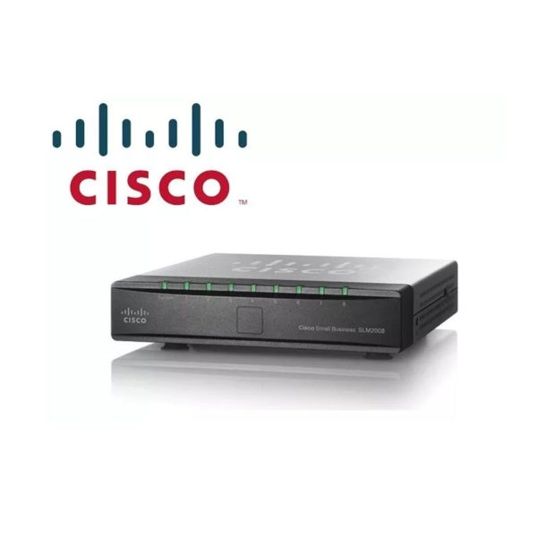 CISCO SLM2008T-NA 8 10/100/1000 GB SMART SWITCH SOBREMESA MONTAJE PARED