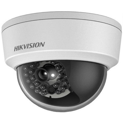 HIKVISION DOMO IP 2MP LF 2.8mm IP67 POE IR 20MT H265+ H264 IK10