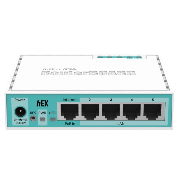 MIKROTIK ROUTERS HEX DUAL CORE 880MHz 256MB GIGE