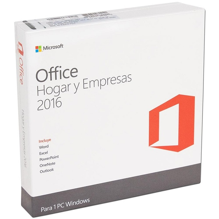 MICROSOFT ESD OFFICE HOME AND BUSINESS 2016 WILL ALL LNG PKL