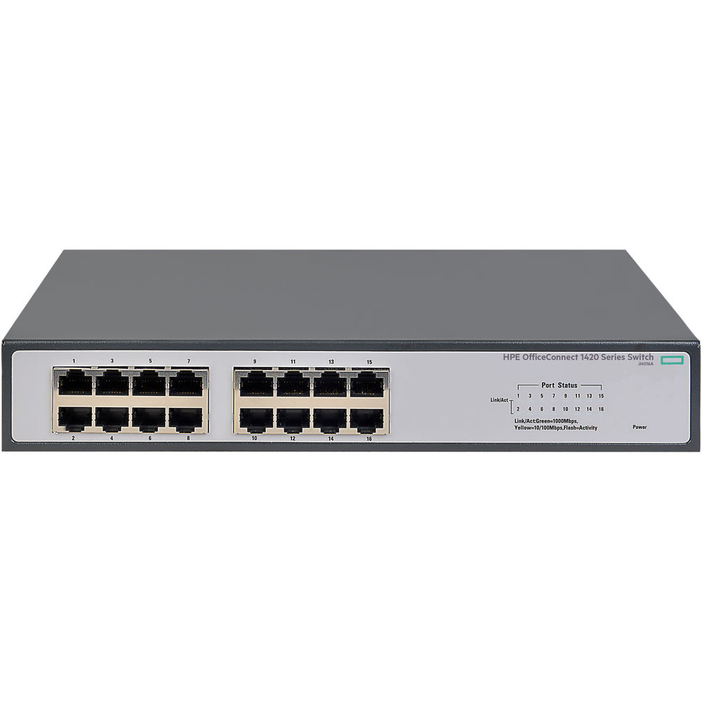 HPE ARUBA 1420 16G SWITCH 10/100/1000