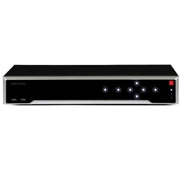 HIKVISION NVR 32CH/16CH POE 256Mbps 4HDD (NO INCL HDD) EN RED 1.5U MONTAJE EN BASTIDOR